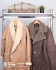 Adults real sheepskin coat - grade A + CR